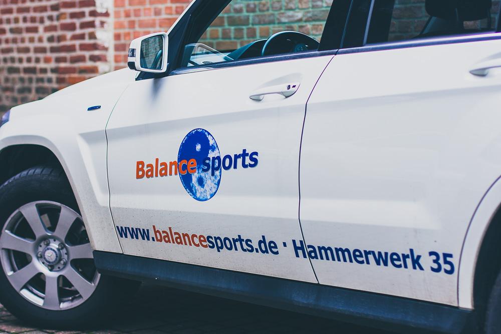 Balance Sports Autobeschriftungen